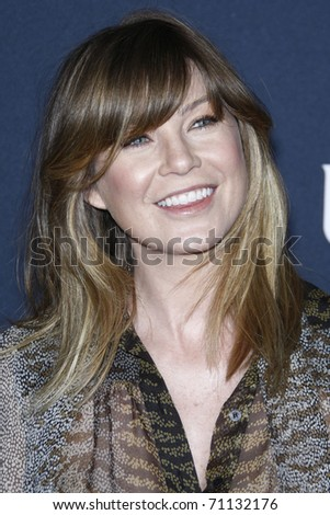 LOS ANGELES - FEB 12:  Ellen Pompeo arrives at the Gucci and RocNation Pre-GRAMMY Brunch at Soho House on February 12, 2011 in West Hollywood, CA