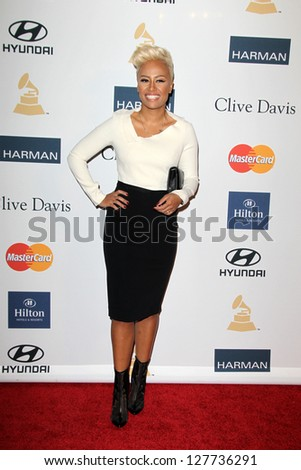 LOS ANGELES - FEB 9:  Emelie Sande arrives at the Clive Davis 2013 Pre-GRAMMY Gala at the Beverly Hilton Hotel on February 9, 2013 in Beverly Hills, CA