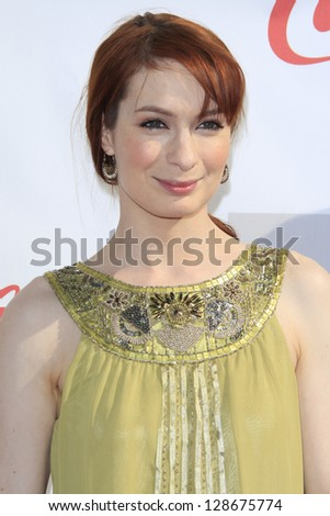 LOS ANGELES - FEB 17: Felicia Day at the 3rd Annual Streamy Awards at the Hollywood Palladium on February 17, 2013 in Los Angeles, California