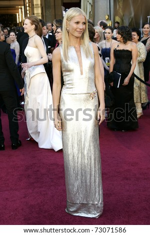 LOS ANGELES - FEB 27:  Gwyneth Paltrow arrives at the 83rd Annual Academy Awards - Oscars at the Kodak Theater on February 27, 2011 in Los Angeles, CA.