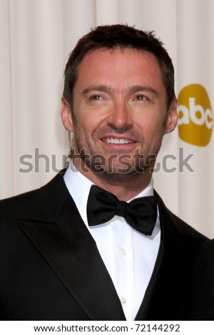 LOS ANGELES -  FEB 27: Hugh Jackman arrives  in the Press Room at the 83rd Academy Awards at Kodak Theater, Hollywood & Highland on February 27, 2011 in Los Angeles, CA