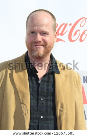 LOS ANGELES - FEB 17: Josh Whedon at the 3rd Annual Streamy Awards at the Hollywood Palladium on February 17, 2013 in Los Angeles, California
