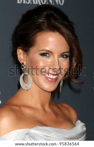 LOS ANGELES - FEB 21:  Kate Beckinsale arrives at the 14th Annual Costume Designers Guild Awards at the Beverly Hilton Hotel on February 21, 2012 in Beverly Hills, CA.