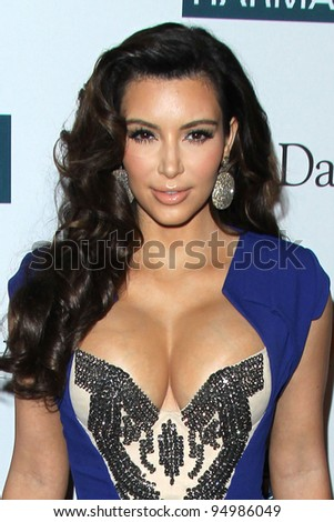 LOS ANGELES - FEB 11: Kim Kardashian arrives at the Pre-Grammy Party hosted by Clive Davis at the Beverly Hilton Hotel on February 11, 2012 in Beverly Hills, CA