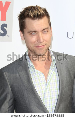 LOS ANGELES - FEB 17: Lance Bass at the 3rd Annual Streamy Awards at the Hollywood Palladium on February 17, 2013 in Los Angeles, California