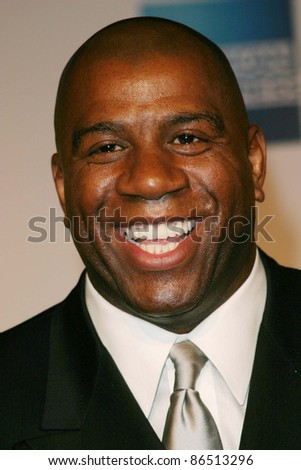 LOS ANGELES - FEB 12: Magic Johnson at the 'A Tribute to Magic Johnson - The official tip-off to NBA All-Star 2004 Entertainment' on February 12, 2004 at the Shrine Auditorium, Los Angeles, California