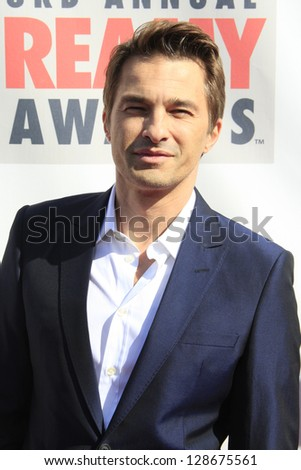 LOS ANGELES - FEB 17: Olivier Martinez at the 3rd Annual Streamy Awards at the Hollywood Palladium on February 17, 2013 in Los Angeles, California