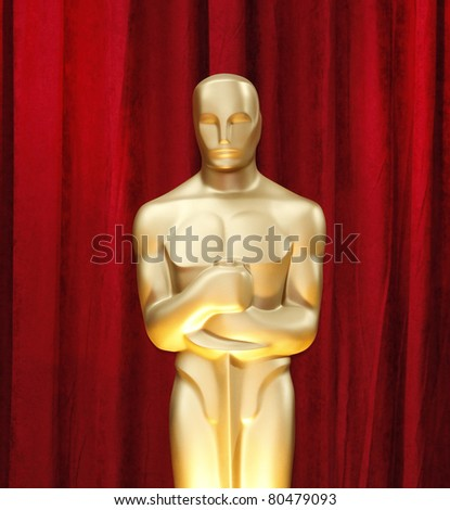 LOS ANGELES - FEB 22: Oscar statue in the press room at the Oscars held at the Kodak Theater in Los Angeles, California on February 22, 2009