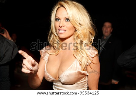 "LOS ANGELES - FEB. 12: Pamela Anderson attends the ""Fame At The Mansion"" 2012 Grammy Aterparty hosted by Sean ""Diddy"" Combs held at the Playboy Mansion. Los Angeles, Feb 12, 2012"