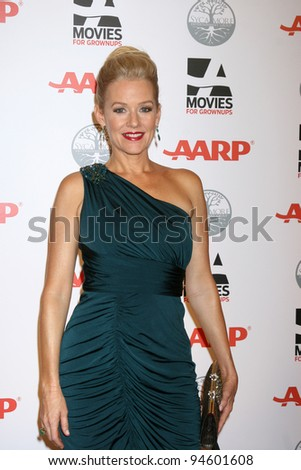 LOS ANGELES - FEB 6:  Penelope Ann Miller arrives at the AARP's 11th Annual Movies For Gownups Awards at Beverly Wilshire Hotel on February 6, 2012 in Beverly Hills, CA