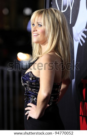 LOS ANGELES - FEB 8:  Reese Witherspoon arrives at the 'This Means War' Premiere at Graumans Chinese Theater on February 8, 2012 in Los Angeles, CA