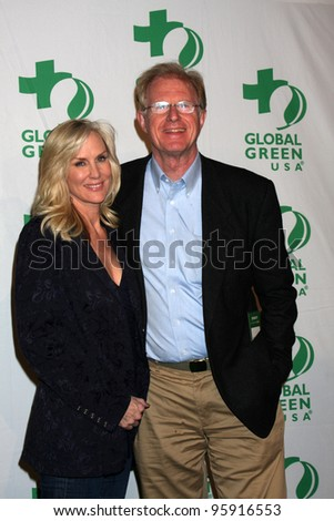 LOS ANGELES - FEB 22:  Rochelle Carson, Ed Begley Jr. arrive at Global Green USA's Pre-Oscar Party at the Avalon on February 22, 2012 in Los Angeles, CA.