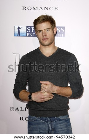 """LOS ANGELES - FEB 6:  Trevor Donovan arrives at """"The Vow"""" Premiere at Gramans Chinese Theater on February 6, 2012 in Los Angeles, CA - stock photo"""