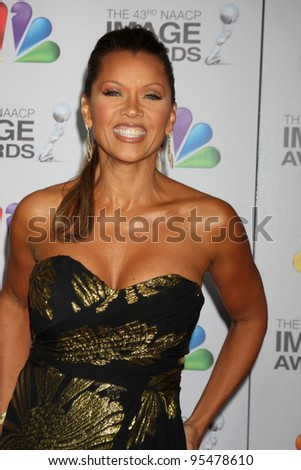 LOS ANGELES - FEB 17:  Vanessa L. Williams arrives at the 43rd NAACP Image Awards at the Shrine Auditorium on February 17, 2012 in Los Angeles, CA