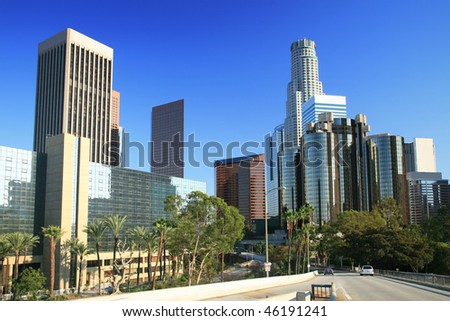 Los Angeles financial district