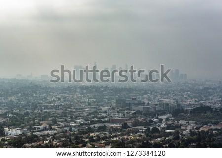los angeles fog #1273384120