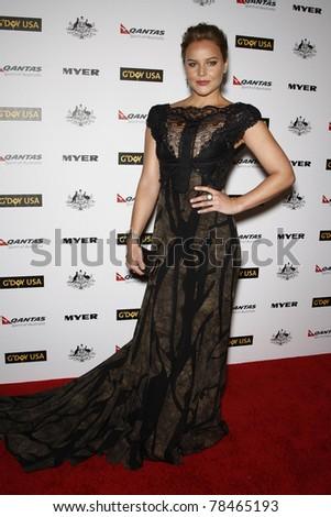 LOS ANGELES - JAN 22: Abbie Cornish at the 2011 G'Day USA Australia Week LA Black Tie Gala at the Hollywood Palladium in Los Angeles, California on  January 22, 2011.