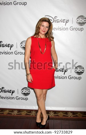LOS ANGELES - JAN 10:  Ana Gasteyer arrives at the ABC TCA Party Winter 2012 at Langham Huntington Hotel on January 10, 2012 in Pasadena, CA
