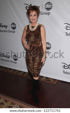LOS ANGELES - JAN 10:  ANNIE POTTS ABC All Star Winter TCA Party 2012  on January 10, 2012 in Pasadena, CA - stock photo
