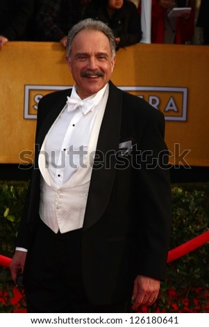 LOS ANGELES - JAN 27:  Anthony Laciura arrives at the 2013 Screen Actor's Guild Awards at the Shrine Auditorium on January 27, 2013 in Los Angeles, CA - stock photo