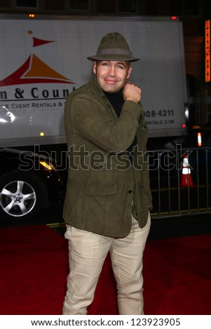 LOS ANGELES - JAN 7:  Billy Zane arrives at the 'Gangster Squad' Premiere at Graumans Chinese Theater on January 7, 2013 in Los Angeles, CA - stock photo
