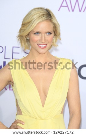 LOS ANGELES - JAN 9: Brittany Snow at the 39th Annual People's Choice Awards at Nokia Theater L.A. Live on January 9, 2013 in Los Angeles, California