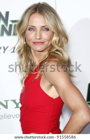 LOS ANGELES - JAN 10: Cameron Diaz at the premiere of 'The Green Hornet' at Grauman's Chinese Theater in Los Angeles, California on January 10, 2011