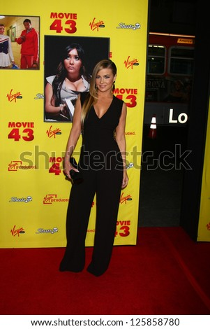 "LOS ANGELES - JAN 23:  Carmen Electra arrives at the ""Movie 43"" Los Angeles Premiere at Chinese Theater on January 23, 2013 in Los Angeles, CA"