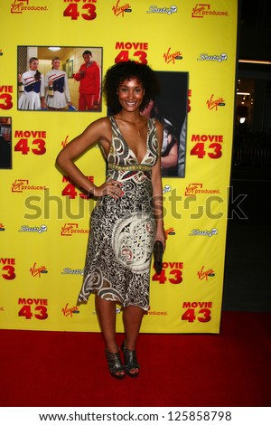 """LOS ANGELES - JAN 23:  Cherina Scott arrives at the """"Movie 43"""" Los Angeles Premiere at Chinese Theater on January 23, 2013 in Los Angeles, CA"""