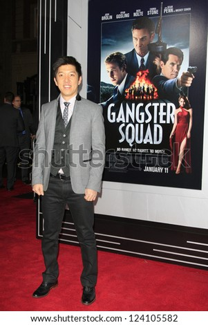 LOS ANGELES - JAN 7: Dan Lin at Warner Bros. Pictures' 'Gangster Squad' premiere at Grauman's Chinese Theater on January 7, 2013 in Los Angeles, California