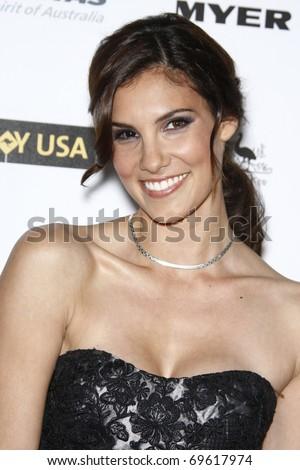 LOS ANGELES - JAN 22:  Daniela Ruah arrives at the 2011 G'Day USA Australia Week LA Black Tie Gala at Hollywood Palladium on January 22, 2011 in Los Angeles, CA