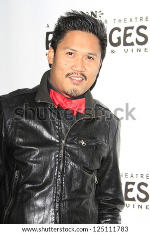 LOS ANGELES - JAN 15: Dante Basco at the opening night of 'Peter Pan' at the Pantages Theater on January 15, 2013 in Los Angeles, California