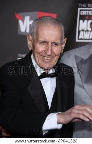 LOS ANGELES - JAN 14: Dr. Jack Kevorkian arrives at the 16th Annual Critics' Choice Movie Awards at the Hollywood Palladium on January 14, 2011 in Los Angeles, CA