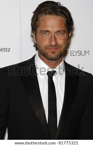 LOS ANGELES - JAN 15: Gerard Butler at the Art Of Elysium 'Heaven' Gala 2011 at The California Science Center Exposition Park in Los Angeles, CA on January 15, 2011