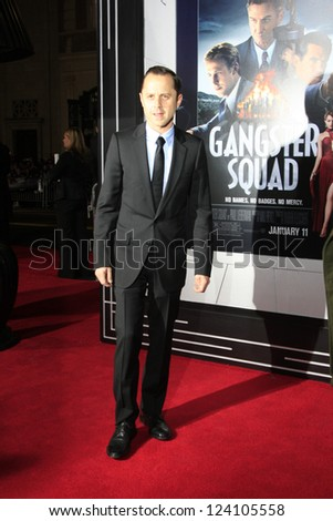 LOS ANGELES - JAN 7: Giovanni Ribisi at Warner Bros. Pictures' 'Gangster Squad' premiere at Grauman's Chinese Theater on January 7, 2013 in Los Angeles, California