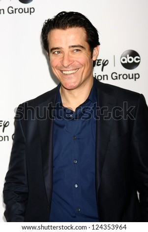 LOS ANGELES - JAN 10:  Goran Visnjic attends the ABC TCA Winter 2013 Party at Langham Huntington Hotel on January 10, 2013 in Pasadena, CA