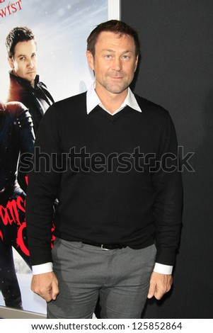 LOS ANGELES - JAN 23: Grant Bowler at the LA premiere of Paramount Pictures' 'Hansel And Gretel: Witch Hunters' at Grauman's Chinese Theater on January 24, 2013 in Los Angeles, California