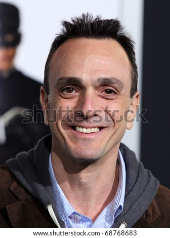 """LOS ANGELES - JAN 10:  Hank Azaria arrives to Los Angeles Premiere of """"Green Hornet""""  on January 10,2011 in Hollywood, CA"""