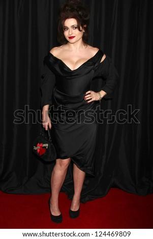 LOS ANGELES - JAN 12:  Helena Bonham Carter arrives at the 2013 LA Film Critics Awards at InterContinental Hotel on January 12, 2013 in Century City, CA