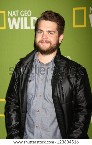 "LOS ANGELES - JAN 3:  Jack Osbourne arrives at the National Geographic Channels' ""2013 Winter TCA"" Cocktail Party. at Langham Huntington Hotel on January 3, 2013 in Pasadena, CA"