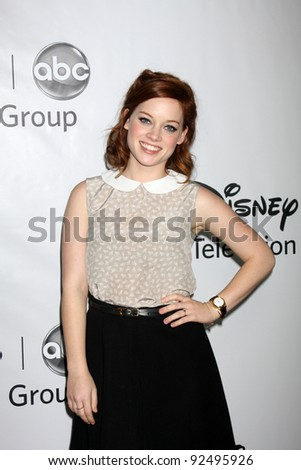 LOS ANGELES - JAN 10:  Jane Levy arrives at the ABC TCA Party Winter 2012 at Langham Huntington Hotel on January 10, 2012 in Pasadena, CA