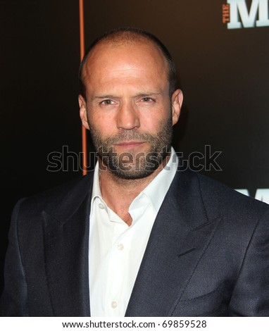 "LOS ANGELES - JAN 25:  Jason Statham arrives at the ""The Mechanic"" Los Angeles Premiere  on January 25, 2011 in Hollywood, CA"