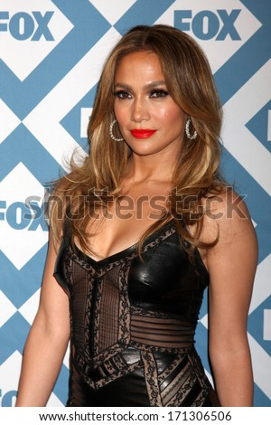 LOS ANGELES JAN 13 Jennifer Lopez at the FOX TCA Winter 2014 Party at Langham Huntington Hotel on January 13 2014 in Pasadena CA