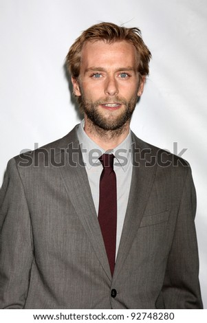LOS ANGELES - JAN 10:  Joe Anderson arrives at the ABC TCA Party Winter 2012 at Langham Huntington Hotel on January 10, 2012 in Pasadena, CA