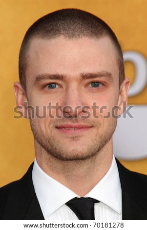 LOS ANGELES - JAN 30:  Justin Timberlake arrives at the 2011 Screen Actors Guild Awards  at Shrine Auditorium on January 30, 2011 in Los Angeles, CA