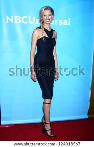 LOS ANGELES - JAN 7:  Karolina Kurkova attends the NBCUniversal 2013 TCA Winter Press Tour at Langham Huntington Hotel on January 7, 2013 in Pasadena, CA