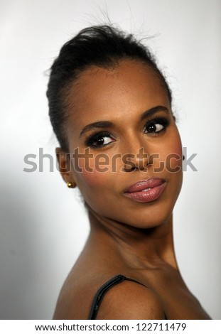 LOS ANGELES - JAN 10:  KERRY WASHINGTON ABC All Star Winter TCA Party 2012  on January 10, 2012 in Pasadena, CA - stock photo