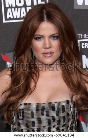 LOS ANGELES - JAN 14: Khloe Kardashian arrives at the 16th Annual Critics' Choice Movie Awards at the Hollywood Palladium on January 14, 2011 in Los Angeles, CA
