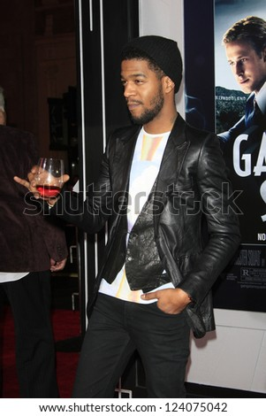 LOS ANGELES - JAN 7: Kid Cudi at Warner Bros. Pictures' 'Gangster Squad' premiere at Grauman's Chinese Theater on January 7, 2013 in Los Angeles, California