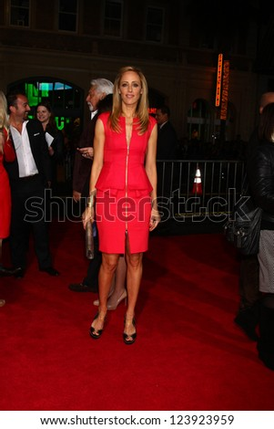 LOS ANGELES - JAN 7:  Kim Raver arrives at the 'Gangster Squad' Premiere at Graumans Chinese Theater on January 7, 2013 in Los Angeles, CA